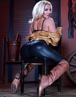 Hot in Riding Boots!