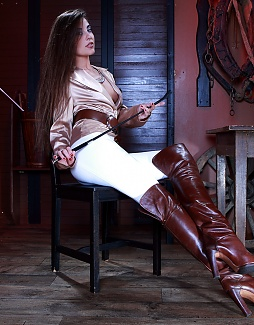 Hot Lorena in the Stable!