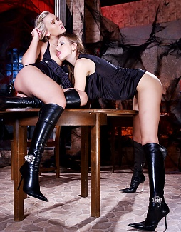 Boots all over! 2